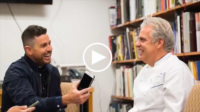 Ryan Scott interviews world-renowned chef Eric Ripert