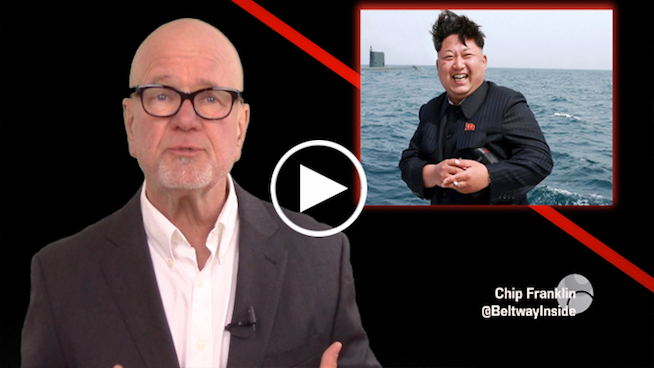Chip Franklin News Update: Trump calls Kim Jong Un a sick puppy