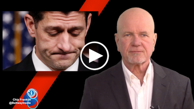 Chip Franklin News Update: Is Speaker Paul Ryan quitting Congress?