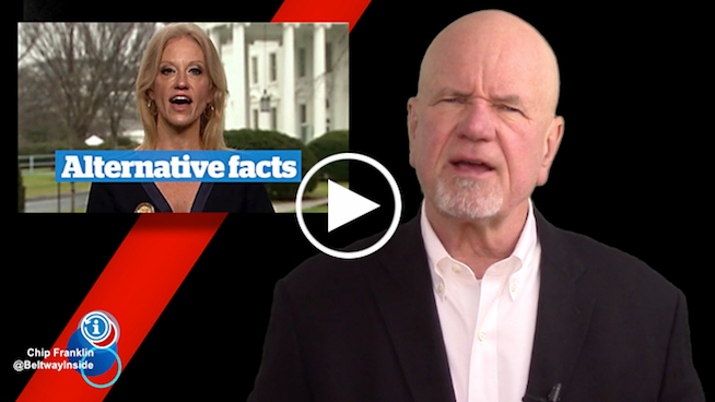 Chip Franklin News Update: Trump's year of alternative facts