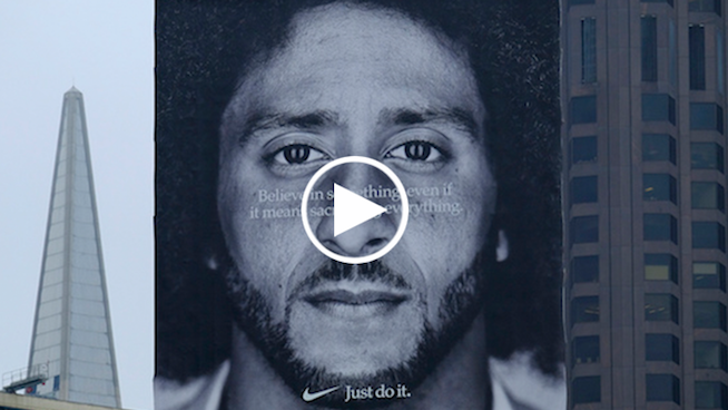 WATCH: Kaepernick's Nike TV ad