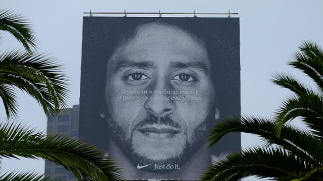 Nike x Colin Kaepernick Commercial Nominated for 2019 Emmy