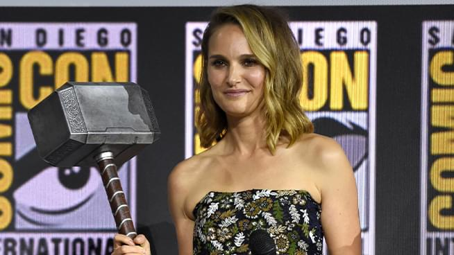 Natalie Portman Announced as First Female Thor, Making her Marvel Comeback