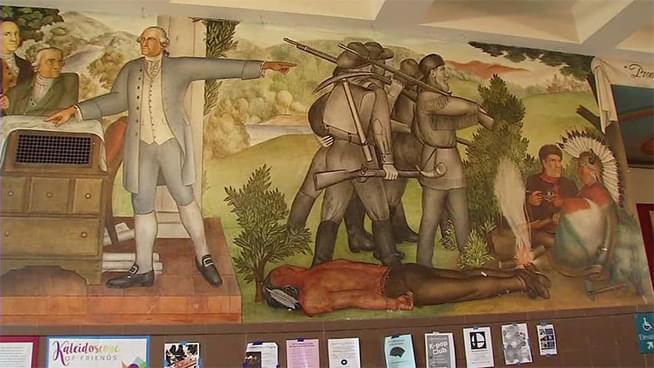 Whitewashing American History: The George Washington High School Mural