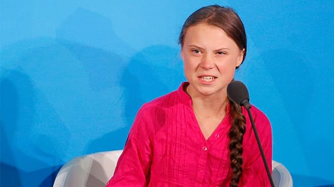 WATCH: Greta Thunberg on Climate Change