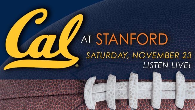 November 23: Cal Bears vs. Stanford