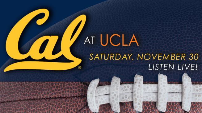 November 30: Cal Bears vs. UCLA