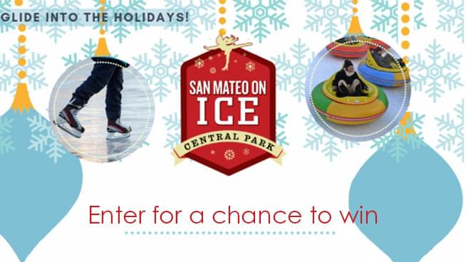 Enter for your chance to win tickets to San Mateo on Ice!