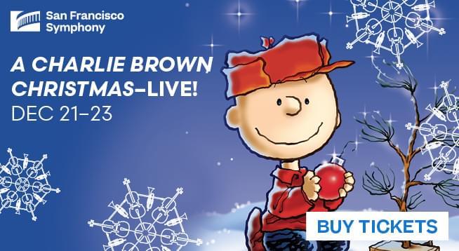 December 21 – December 23: A Charlie Brown Christmas – Live!