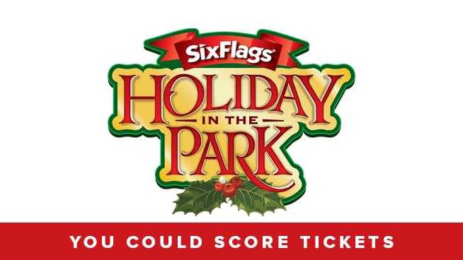 Enter for your chance to win tickets to Six Flags Holiday in the Park!