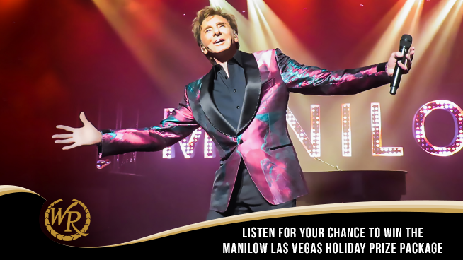 Listen for your chance to win The Manilow Las Vegas Holiday Prize Package!