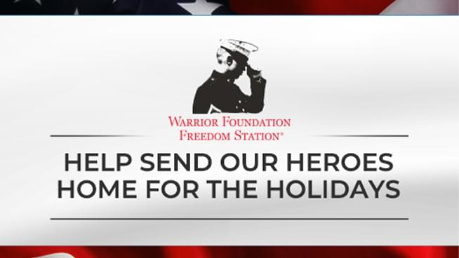 Help Armstrong & Getty: Donate Now to Warrior Foundation/Freedom Station