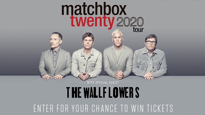 Enter for your chance to win tickets to see Matchbox Twenty!