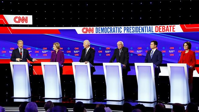 Ronn Owens Report: Last Night's Democratic Debate with political analyst, Gary Dietrich
