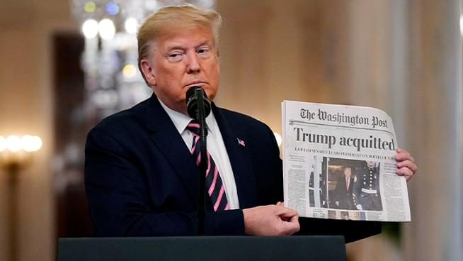 The John Rothmann Show: Trump Takes a Victory Lap