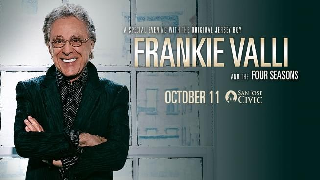 Enter for your chance to win a pair of tickets to see Frankie Valli!