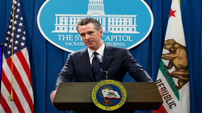 Governor Gavin Newsom Announces CA is far from Ending Shelter in Place