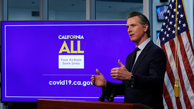 Gavin Newsom Expands EDD Efforts