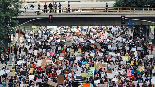 California Highway Patrol Bans Rallies due to Coronavirus
