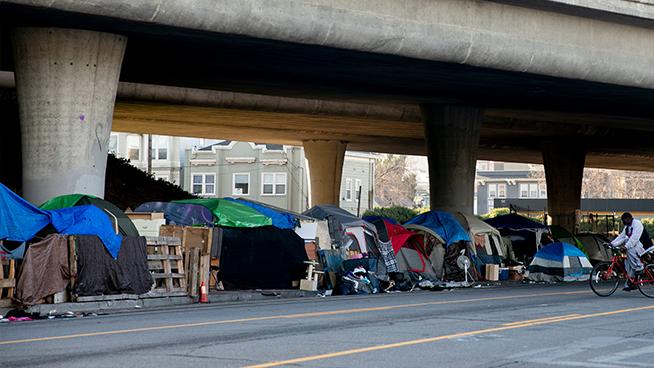 San Francisco's Tenderloin District Pleads for 'Actual Change' as Homelessness Encampments Triple Since Pandemic