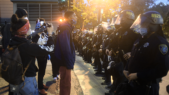 Local Organizers Plead For No Vandalism As Oakland Protests Tuesday Night Will Near Food Distribution Center