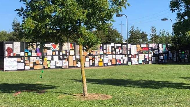 Petaluma Teen Activists Confront Destructive, Anti-BLM Community Members
