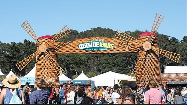 October 29 – October 31: Outside Lands Music Festival