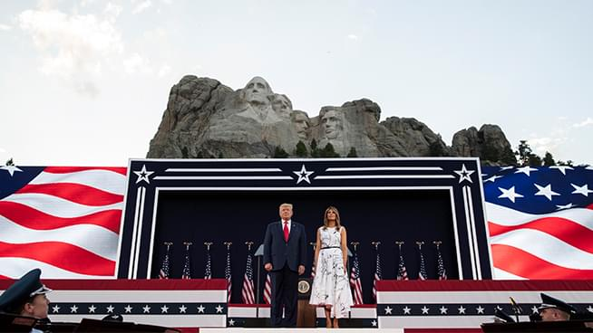 The John Rothmann Show: Trump's Speech at Mount Rushmore