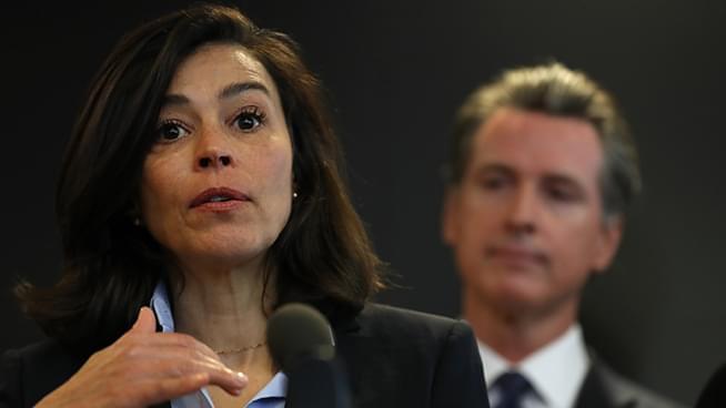 Governor Newsom on California Public Health Director's Sudden Resignation