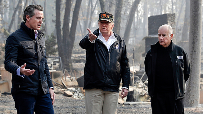 Former Trump Staffer Says the President Vindictively Cut Off Assistance to California Wildfire Victims