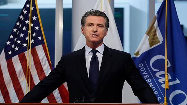 Newsom Announces 4 Tier Plan to Reopen Economy