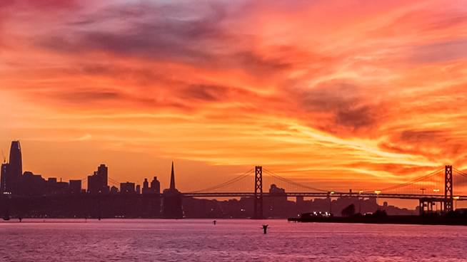 Bay Area's Orange Skies Explained