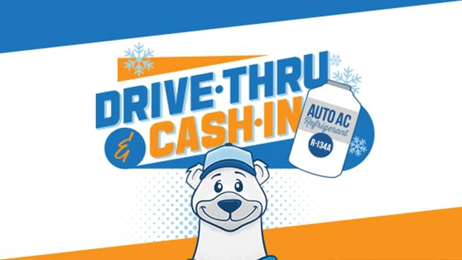 September 26: Bring In Any R134A Auto Refrigerant Can, GET $10