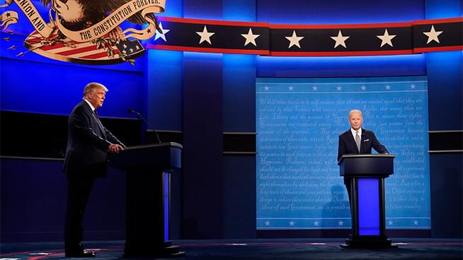 Ronn Owens Report: Ronn recaps the Presidential Cage-Match… or the Debate