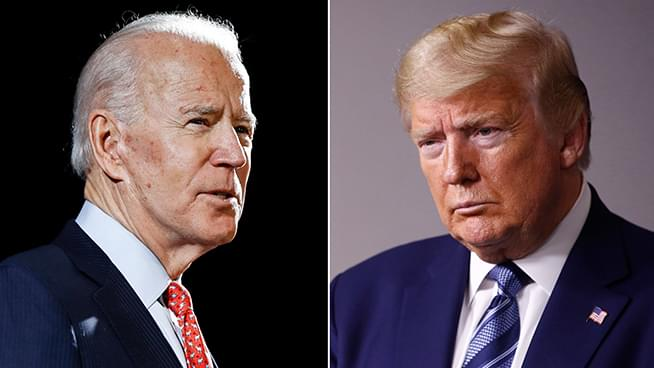 The Latest: Biden: Trump not 'chastened' by racial injustice