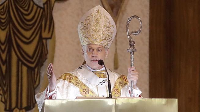 San Francisco Archbishop Salvatore Cordileone Leads an Exorcism