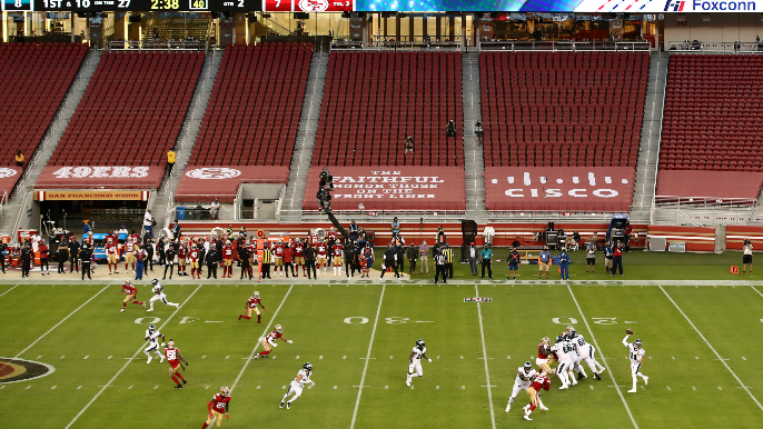Santa Clara County immediately halts hopes for fans to return to Levi's Stadium 'anytime soon'