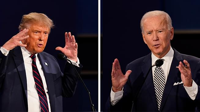 Biden, Trump score wins, but battlegrounds too early to call