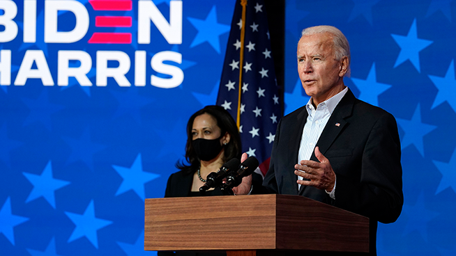 Biden on cusp of presidency after gains in Pennsylvania