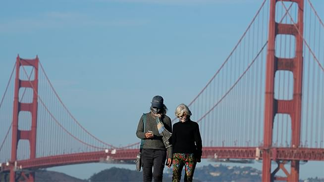 Entire Bay Area will now be under the state's regional stay-at-home order