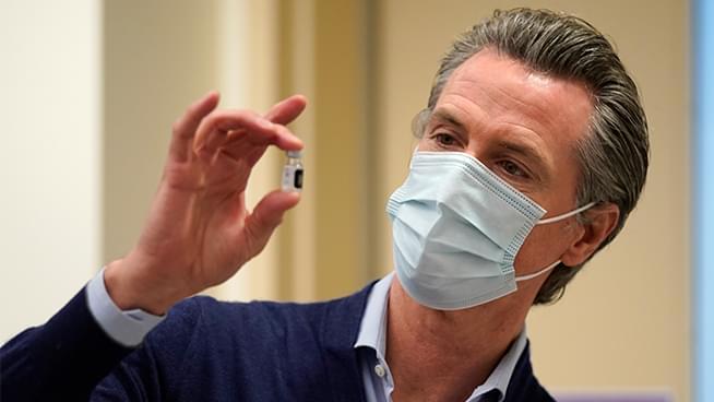 Newsom Announces California's Plan to Distribute COVID-19 Vaccine