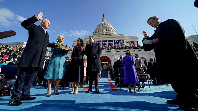 President Joe Biden and Vice President Kamala Harris have officially been sworn in