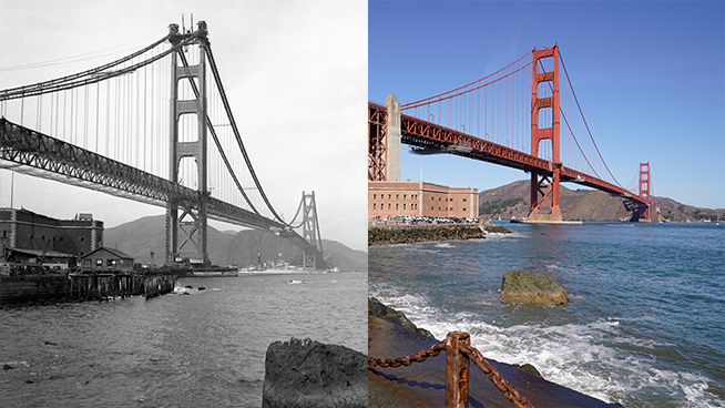 Then Vs. Now: 100 Years of Change in San Francisco