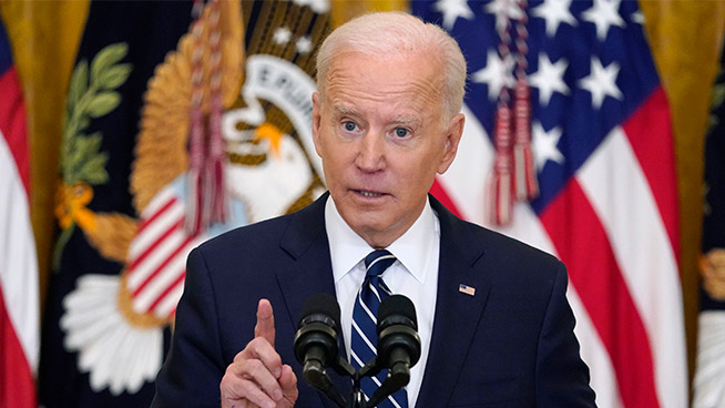 The Latest: Biden says North Korea top foreign policy issue