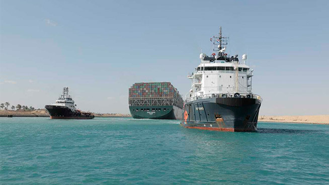 The Pat Thurston Show: Suez Canal Ever Given Ship Freed