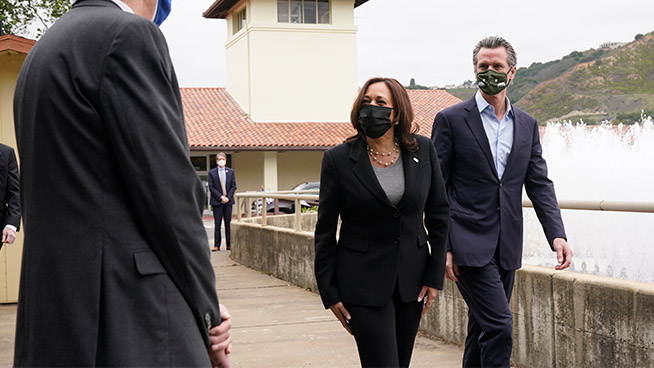 Vice President Kamala Harris Visits Oakland