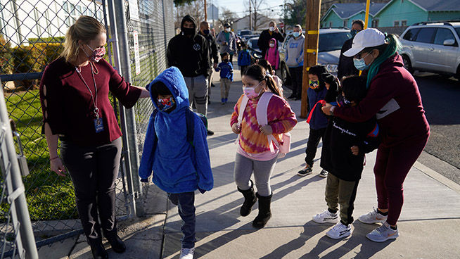 San Francisco Unified School District Reopens Some Schools Monday
