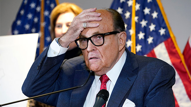 The Pat Thurston Show: FBI warned Rudy Giuliani, Trump's former attorney