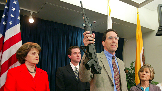 Judge overturns California's 32-year ban on assault weapons