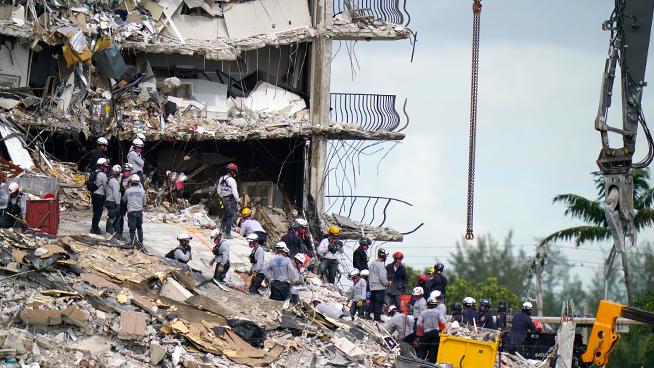 Nikki Medoro shares updates on partial building collapse near Miami